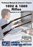 AGI Winchester 1892 & 1886 Rifles Technical Manual & Armorers Course