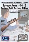 AGI Savage Arms 10-116 Series Bolt Action Rifles