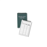 Sinclair Rounds Fired Log Book