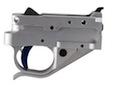 Timney Trigger Group - Ruger 10/22 - Silver with Blue Trigger