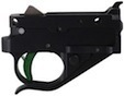 Timney Trigger Group - Ruger 10/22 - Black with Green Trigger